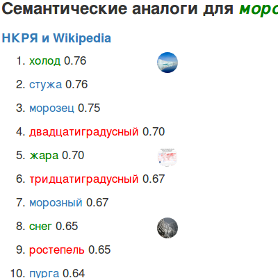 RusVectōrēs: word embeddings for Russian online